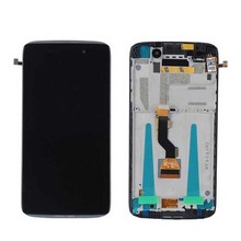 Full Mobile Phone Spare LCD Touch Display Screen for Alcatel One touch Idol X OT 6039 for Alcatel lcd and touch complete