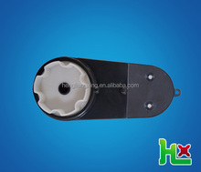Plastic reduction gearbox for children car