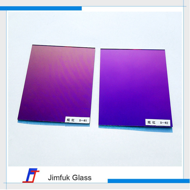 optical tempered stained glass lens