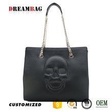 New style skull decoration guangzhou factory bag oem
