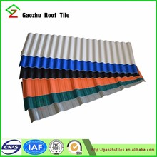 CE certificate color lasting pvc roof tiles/upvc roof tile for warehouse
