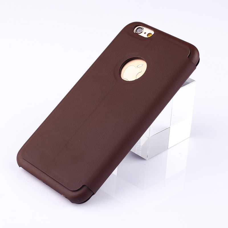 2015 new fashion beautiful mobile phone back cover leather phone case for iphone 6s case