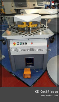 Variable Hydraulic notching machine(right angle shear )