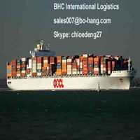 shipping containers price from china to california by professional shipment from china - Skype:chloedeng27