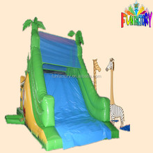 Hallween forest / jungle inflatable slide,Canton Fair inflatable animal slide, cheap Christmas inflatable slide