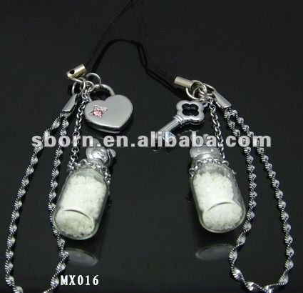 Mobile phone charm strap couples mobile phone strap