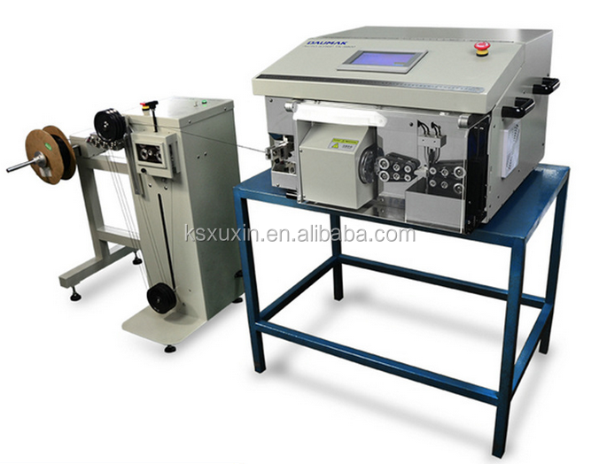 Automatic coaxial cable stripping and cutting machine X-507TZ