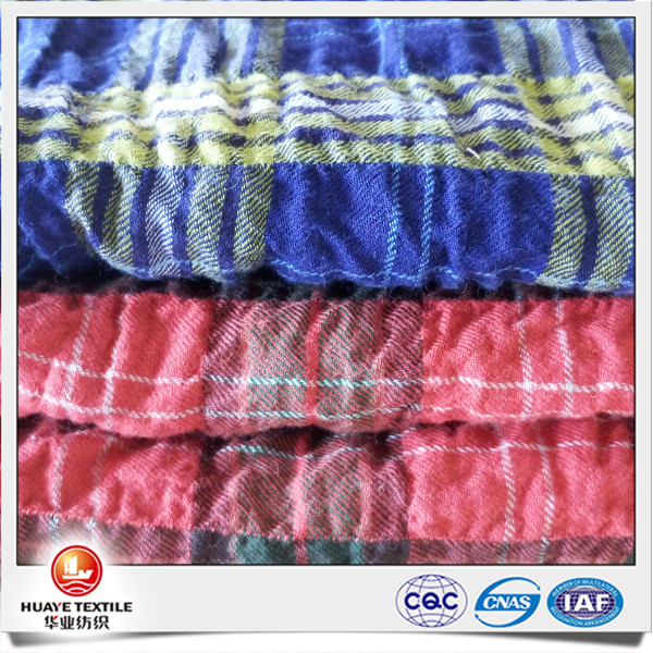 cotton stretch twill crepe fabric material for making dresses