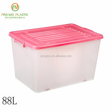 Household waterproof multi-function storage boxes plastic with lids