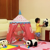 low price children tent wooden play house for kids
