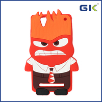 [GGIT] Epoxy Cartoon Character Anger Silicone Phone Case For Sony Xperia T2 Back Cover