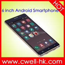 X-BO O1 Low Price Quad Core Android 1GB RAM Super Slim 6 inch 3G CDMA GSM Mobile Phone