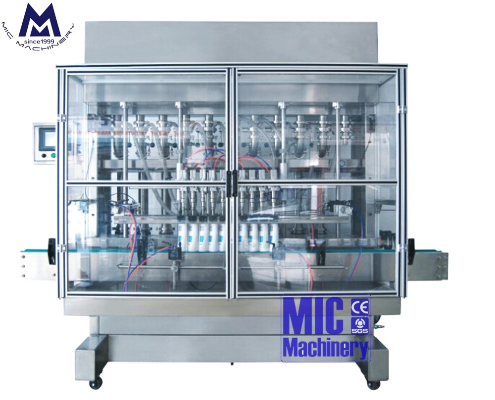 MIC-ZF4 most professional toilet cleaner bottling machine
