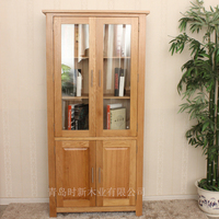 ThineThing durable Showcase,glass display Cabinet, bookcase
