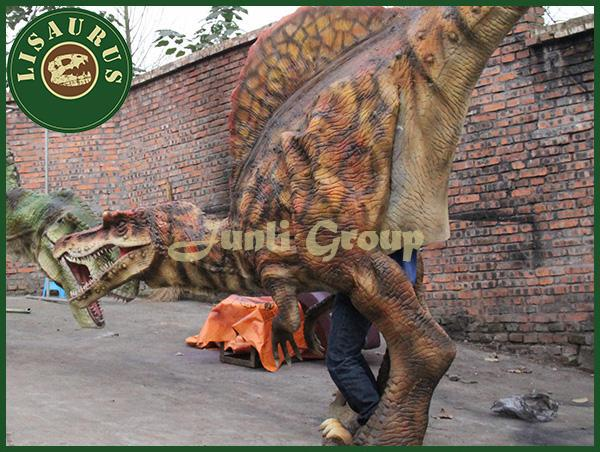 Lisaurus-L1 Life-size dinosaur costume for adult showing china supplier