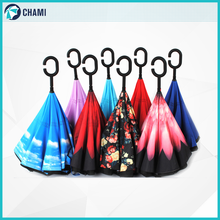 Superior trendy portable cheap inverted umbrella factory china