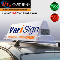 Taxi cab top 12v auto led dome light roof light
