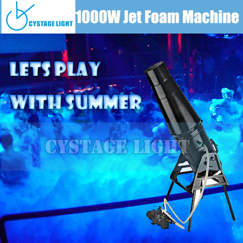 1000w Jet Foam Machine Stage Effect Foam Cannon Foam Machine For Party