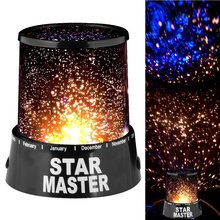 Amazing @ LED Starry Night Sky Projector Lamp Star Light Cosmos Master Kids Gift