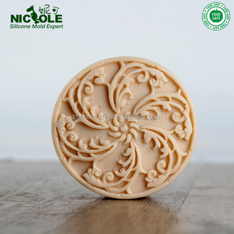 R1708 Single Cavity Die Casting Silicone Round Soap <strong>Mould</strong>