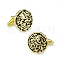 Mens Wrist Accessories printed cuff link