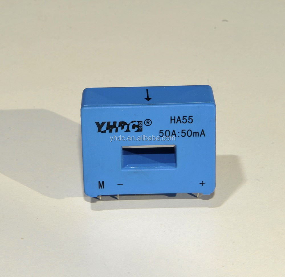HA55 12VDC current transducer 50A:50mA replace Lem Current Transducer LA 55-P/SP1