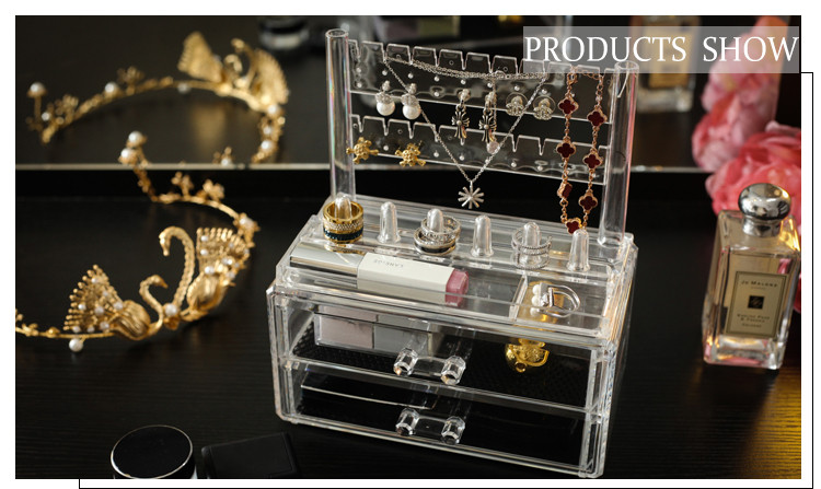 Wholesale Home Hanging Acrylic Earring Jewelry Organizer