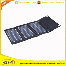 2017 Portable 7.5W solar charger for samsung mobile phone, mini solar charger for easy carrying
