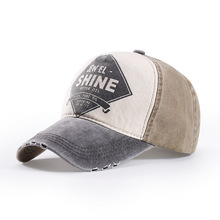 Custom Hot Selling Embroidery printed Sample Free New York Washed Plain Distressed Worn-Out Baseball Caps