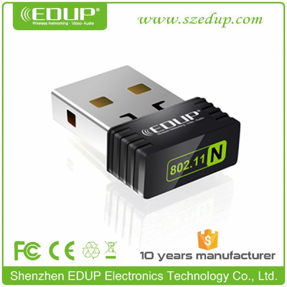 mini usb wireless 2.4ghz / 5ghz usb wifi adapter 150Mbps EDUP EP-N8531