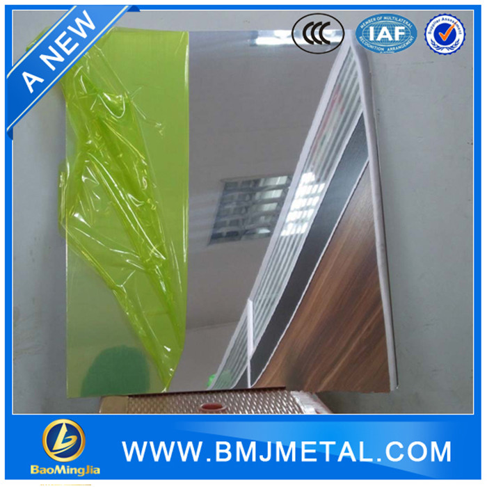 Low Prices Wholesale 4x8 Polished Mirror Aluminum Alloy Sheets for Reflector