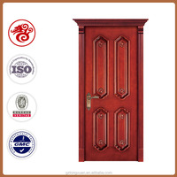 Singel wooden main entrance door design wiht hotel room door ,composite door ,main door veneer design