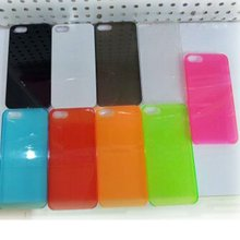 Nito hot sale Glossy black mobile phone tpu gel case for iphone 5