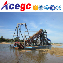 Professioanl sand/gold mining machinery dredging boat supplier for sale