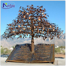 City landscaping large outdoor bronze tree sculpture NT-BSB144