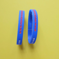Promotion ink filled debossed letter wristband customize silicone bracelet,basketball sport silicone wristbands,