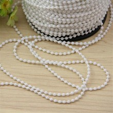 4.8mm*6mm*1.5mm plastic chain for roller blinds