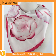 2017 New Hot Selling Custom Design 100% Jingpin Silk Scarf