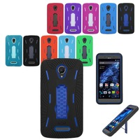 Robot armor heavy duty kickstand case ultra protective cover waterproof phone case for Blu Studio XL/D850Q