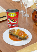 425g High Quality Canned Food Sardine in Tomato Sauce