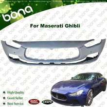 Front Bumper For Maserati Ghibli 673001801 With Radar Hole No Water Spray Rossete
