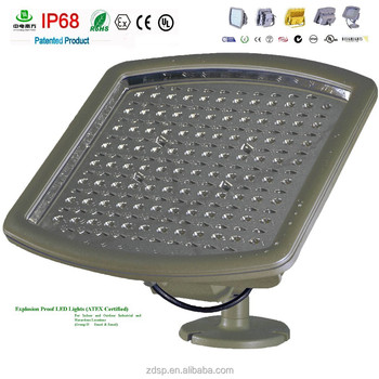 shenzhen explosion proof led light with ip68 ul atex certification for carport with 5 years warranty