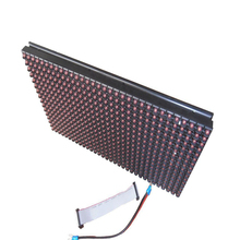 High brightness 1/4 scan outdoor HUB12 P10 led module with red tupe