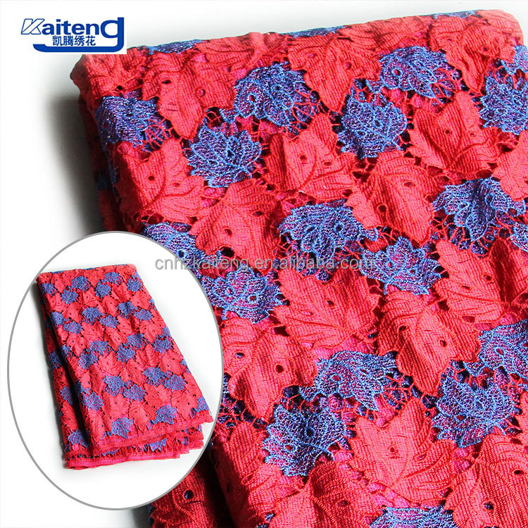 Serviceable Emboridery Chemical Swiss Cord Lace Fabric
