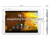 Android 4.2 MTK6589T 9 inch quad core tablet pc