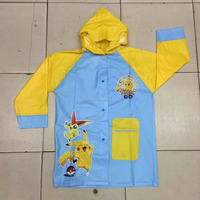 2016 Pikachu Children Raincoat Wholesale Children