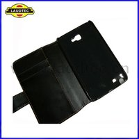 Leather Case for Samsung Galaxy Note i9220 N7000, Wallet Flip Cover