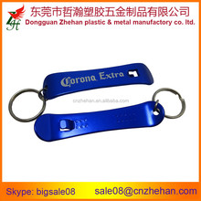 Cheap Custom aluminum bottle opener keyring