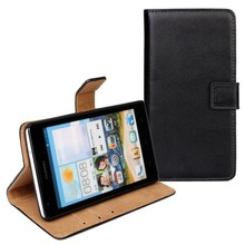 Business flip leather Case for HUAWEI Ascend G700, Phone Case for HUAWEI Ascend G700 with Card Slot and Stand