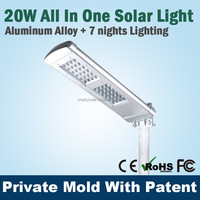 High Power Led Street Solar Light System For Remote Areas